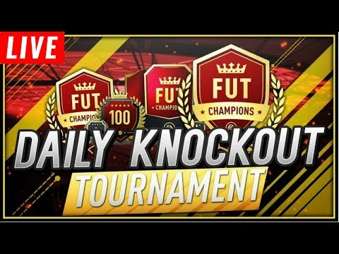 FIFA 18 | DAILY KNOCKOUT TOURNAMENT | FUT DRAFT | ROAD TO 1,100 SUBS