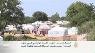 انتشار مرض التهاب الكبد الوبائي بجنوب السودان