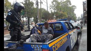 Neutralizan a presuntos asaltantes en la Zona 7 capitalina