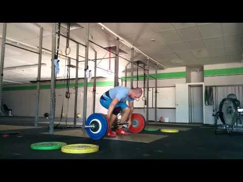 Willie McLendon 125kg clean pull&missed clean2