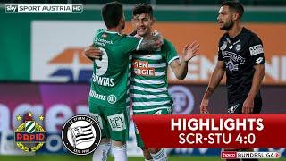 Tipico Bundesliga, 24. Runde: Sk Rapid Wien - Sk Sturm Graz 4:0