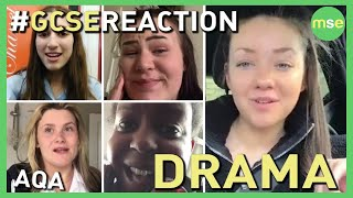Today's GCSE Drama Exam Reaction: GCSE Drama exam, GCSE Reaction team, AQA Drama, Edexcel Drama