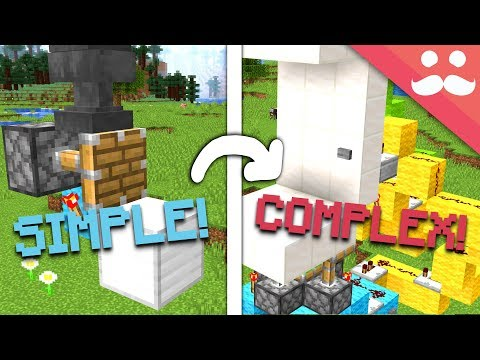 Making SIMPLE Redstone Builds COMPLICATED! #2