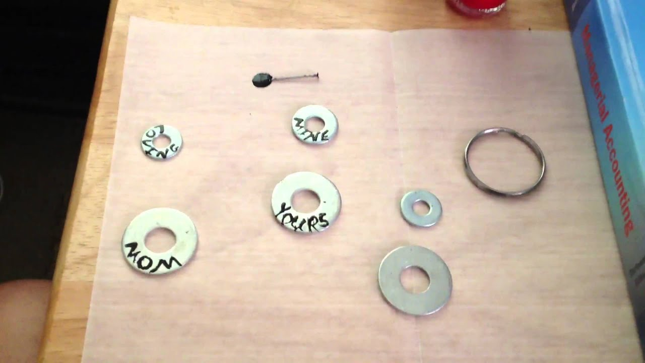 necklaces scoop necklace my creative washer diy