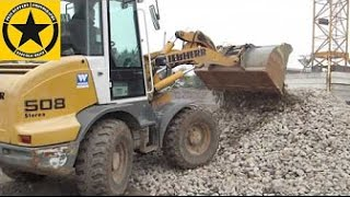 LIEBHERR 508 Loader operated by Jack(3) BRUDER TOY VIDEOS for CHILDREN