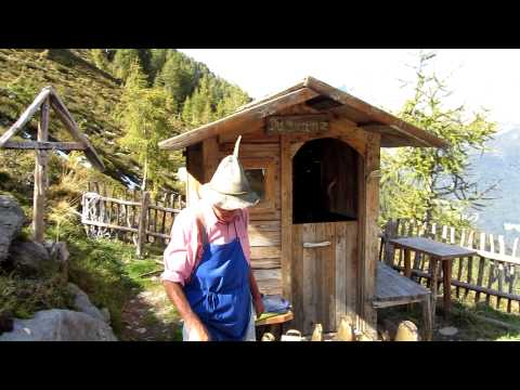 Wandern im Ahrntal - Klausberg das Glockenspiel