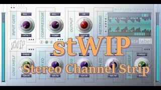 WhiteLABEL stWIP Stereo Channel Strip