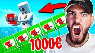 Wer mehr MEDI KITS findet gewinnt 1000€ in Fortnite ..