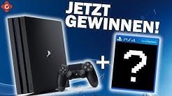 PlayStation 4 Pro + Spiel deiner Wahl gewinnen! | Gewinnspiel