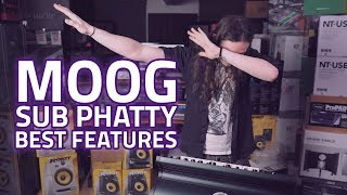Moog Sub Phatty Analogue Synthesizer - Best Features Reviewed!
