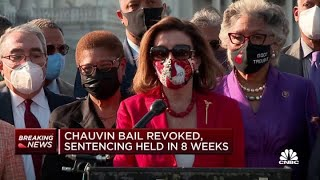 House Speaker Nancy Pelosi comments on Derek Chauvin guilty verdict