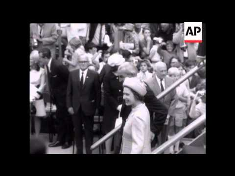 Royal Visit to Newcastle - 1970