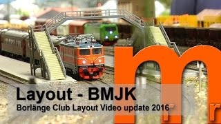 BMJK Borlänge Sweden - Great Model Railroad documentary