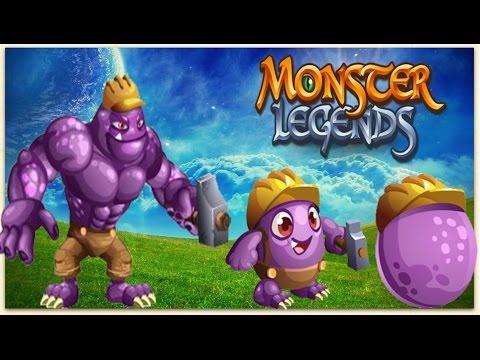 Monster Legends Getting Worker Hulk 100 No Hack YouTube