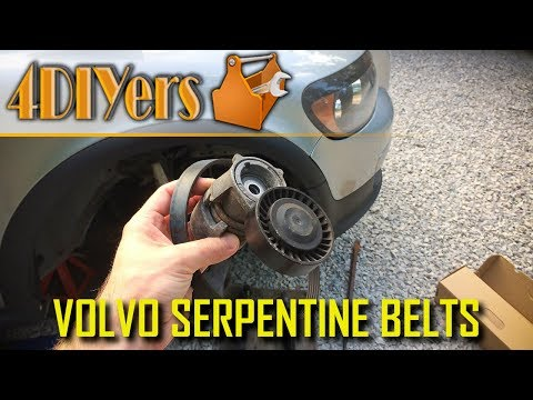 DIY: Volvo C30 S40 V50 C70 T5 Serpentine Belt & Tensioner Replacement
