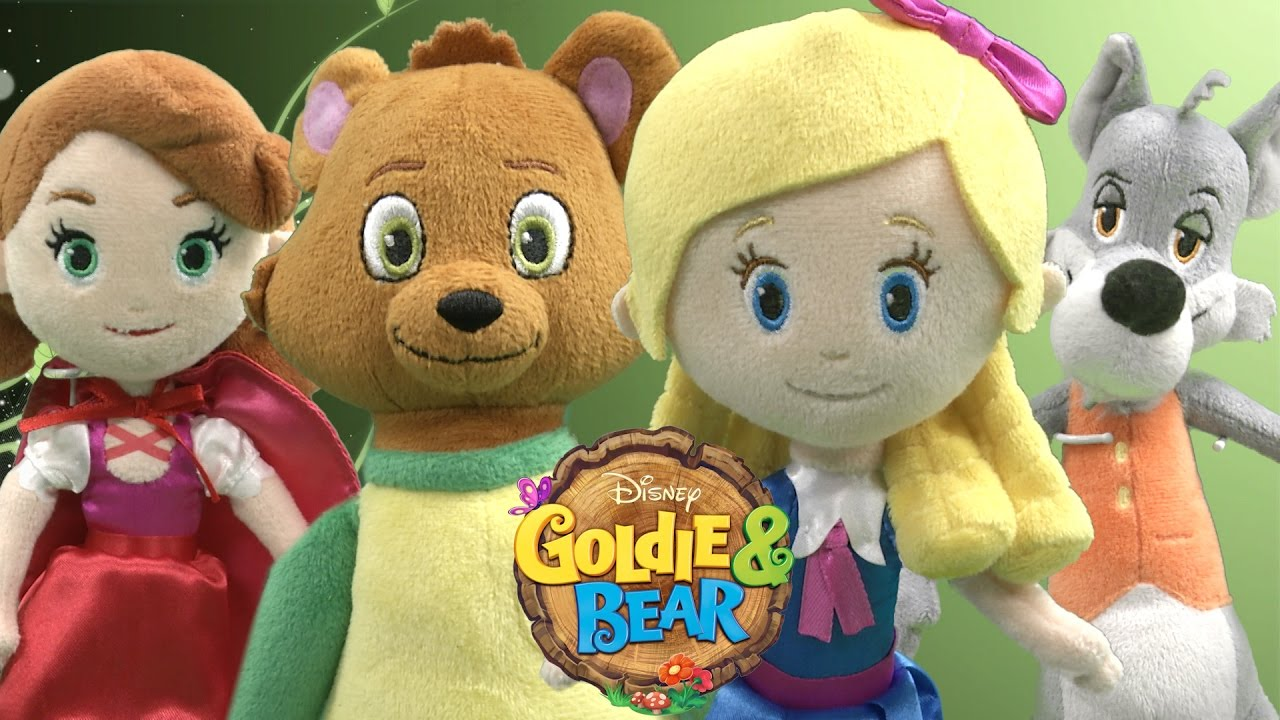 It is an image of Declarative Pictures of Goldie and Bear