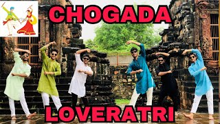 CHOGADA TARA || Loveratri || Garba hiphop bollywood|| dance choreography|| lavish