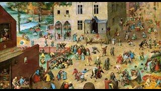 Питер Брейгель Старший (1525-1569) «Детские игры» 1560