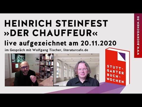 Heinrich Steinfest: »Der Chauffeur« auf den Stuttgarter Buchwochen 2020