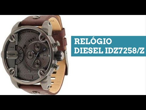 ff069a28f7 Relógio Diesel Masculino IDZ7258Z - YouTube