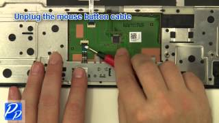 dell Inspiron 15R N5110 Mouse Button Replacement Video Tutorial