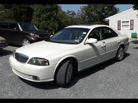 2004 Lincoln LS 3.9L V8 Start Up and Tour