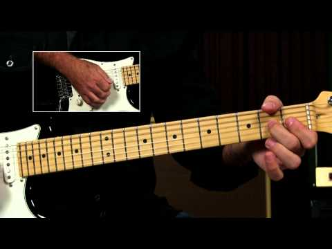 Blues Guitar Lesson - Blues Tune Ending Lick (How To End A Blues Song)