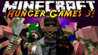 Minecraft Mini-Game : HUNGER GAMES 3!