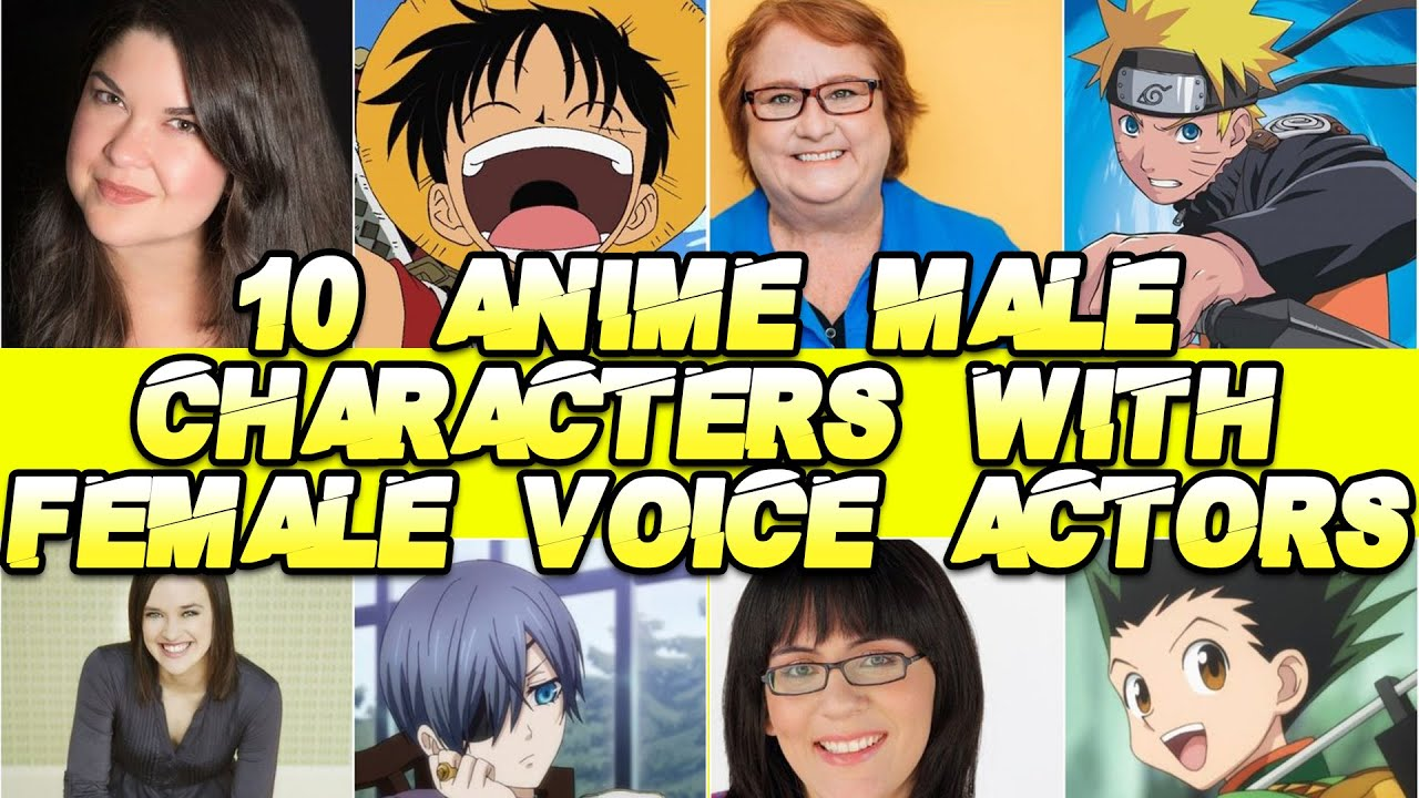 Interview] luffy's voice actress mayumi tanaka speaks about. 10 Anime Male Characters Played By Female Voice Actors English Dub Youtube