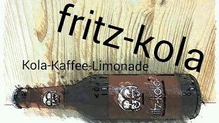 Tripsy testet fritz kola (Kola-Kaffee-Limonade)