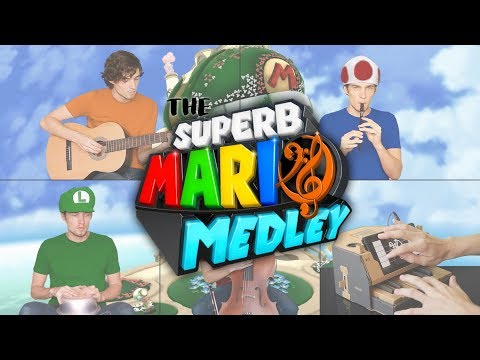 The Superb Mario Medley (feat. Labo Piano)