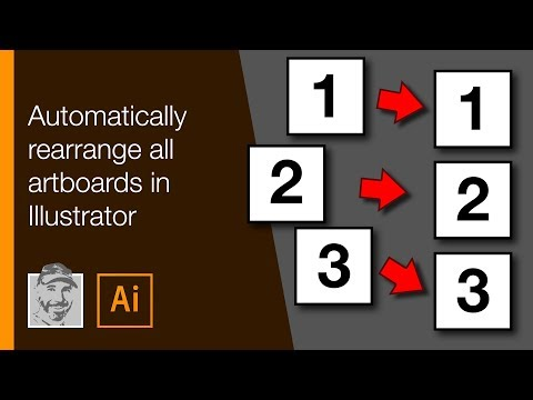 Automatically rearrange all artboards in Illustrator