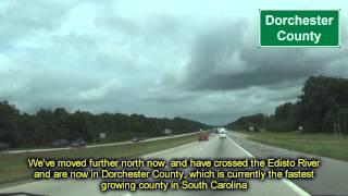 I 95 in Colleton, Orangeburg, & Clarendon Counties of SC (remix)