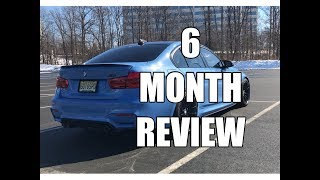Vlog 26: 6 Month Review of my 2017 BMW M3 Manual ZCP