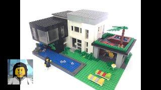 LEGO - Como Construir uma Casa Incrível e Super Moderna de Lego