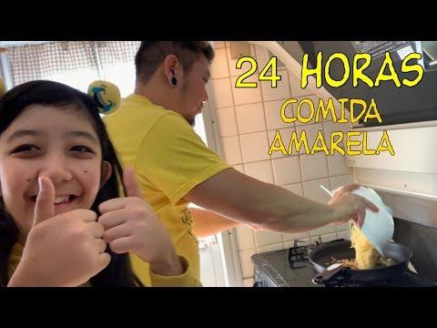 24 HORAS COMIDA AMARELA 💛