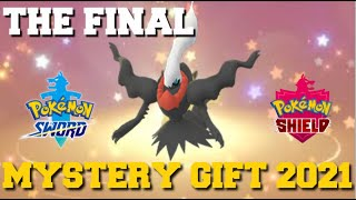 THE FINAL MYSTERY GIFT IN POKEMON SWORD AND SHIELD (MYSTERY GIFT CODES 2021)
