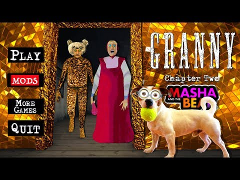 Мод Грани Маша и Медведь ► Granny: Chapter Two ► Прохождение + Побег через дверь