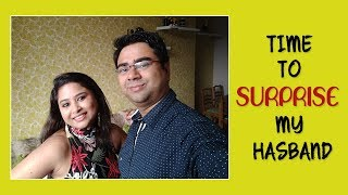 Surprise Gift for My Husband || Early Puja Surprise Gift