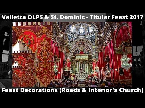 Valletta MPS u San Duminku - Festa Titulari 2017 - Armar tal-Festa (Toroq Kollha u l-Basilika) / 14