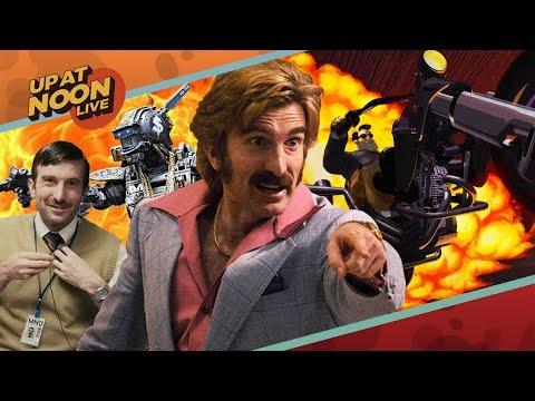 The World's Craziest Shootout Movie, Thor, & Tim Schafer - Up at Noon Live!