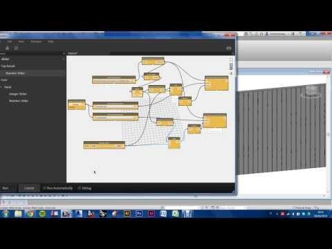 Revit+Dynamo: Random pattern facade