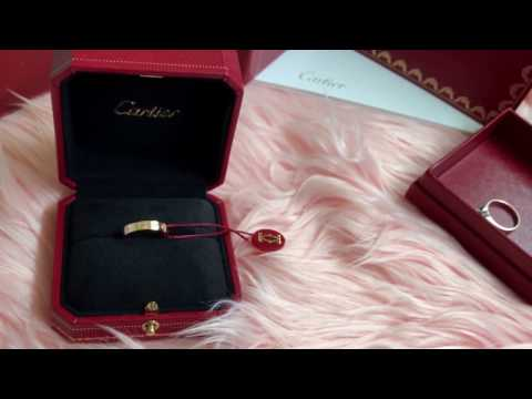 My first ever CARTIER piece | LOVE Wedding Band | Unboxing | CC available