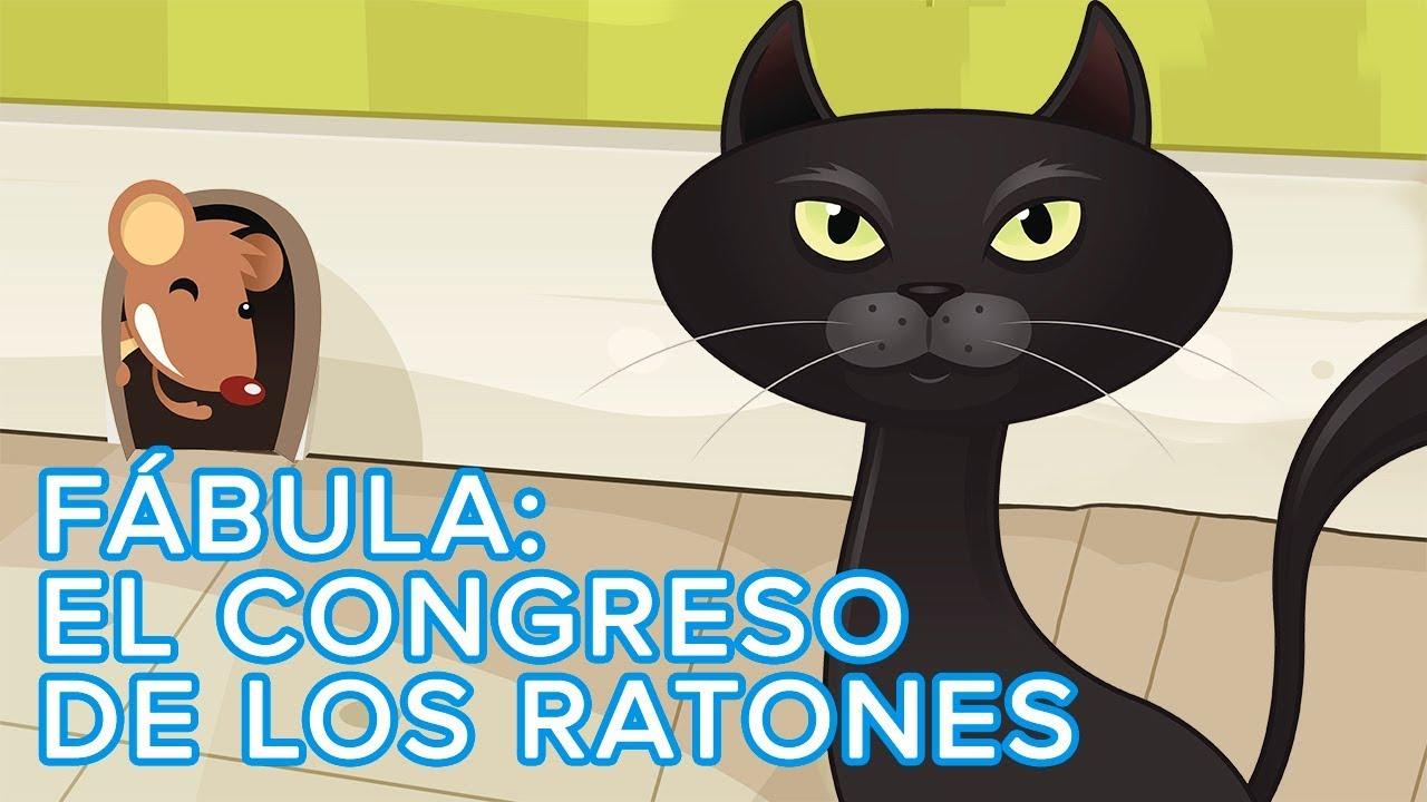 Fábula Para Niños El Congreso De Los Ratones Cuento Infantil Con Valores