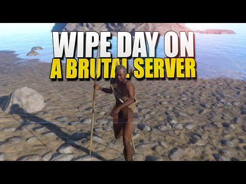 WIPE DAY On A BRUTAL Server (Rust Survival) #115