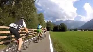 Pista ciclabile Malles-Glorenza-Prato allo Stelvio immersa nel verde! Trentino Alto Adige. Merano.