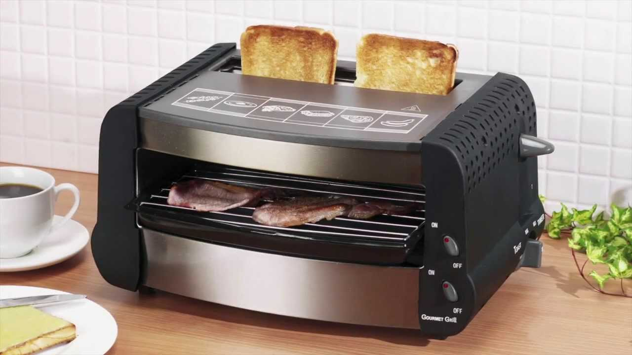 Grill Toaster And Snack Maker Youtube