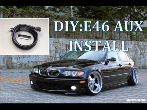 DIY: BMW E46 AUX INSTALL