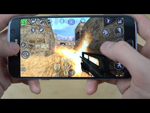 Counter-Strike 1.6 Android Port Samsung Galaxy S7 Gameplay Review!