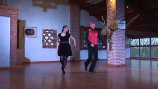 ballo di gruppo Fandango (Bertarelli)